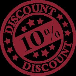 8-15 martie - Discount 10%