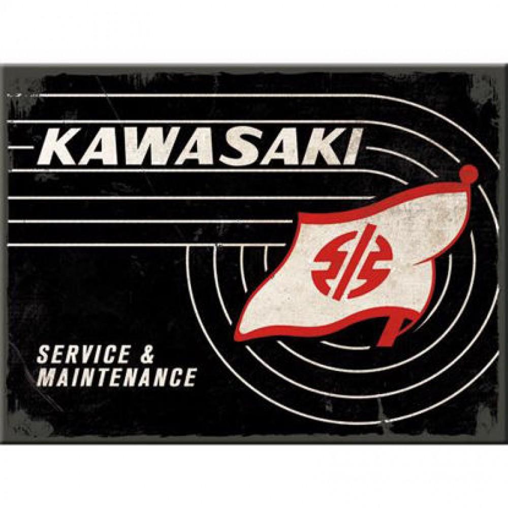 Magnet Kawasaki - Tank Logo