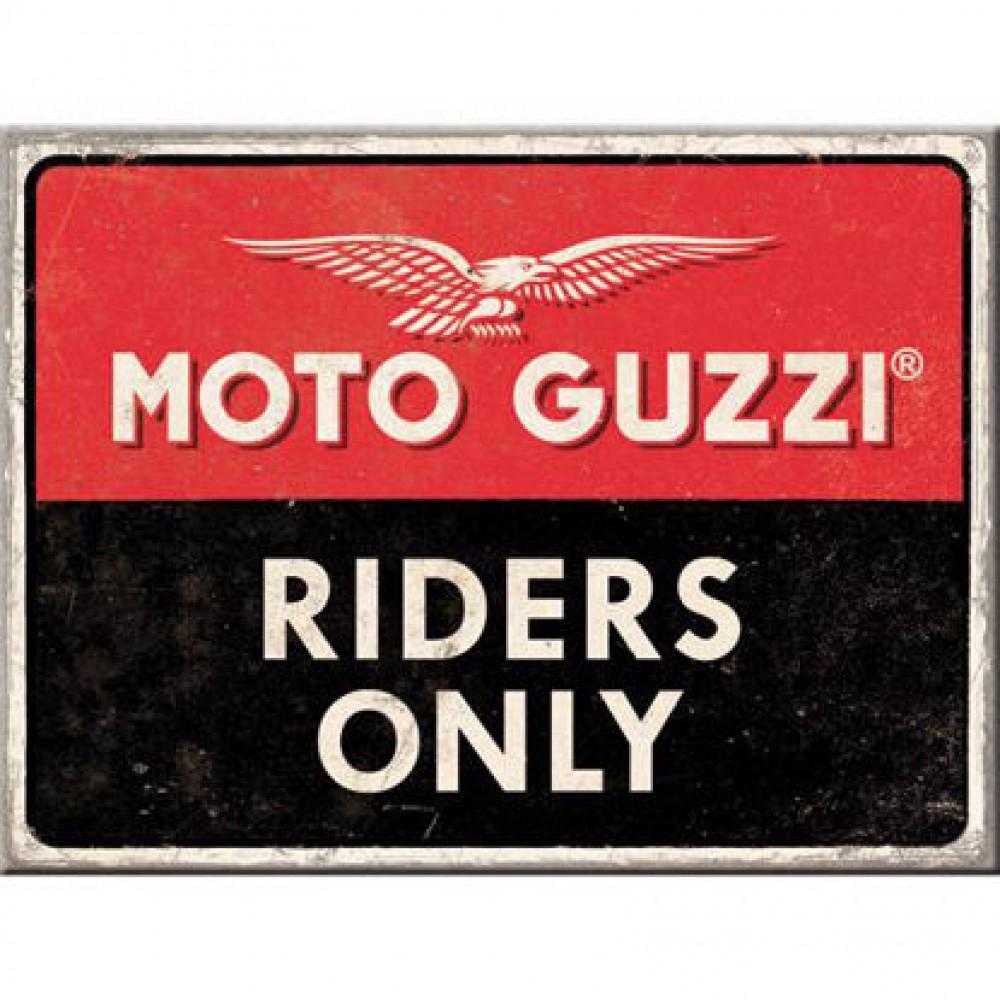 Magnet Moto Guzzi - Riders Only