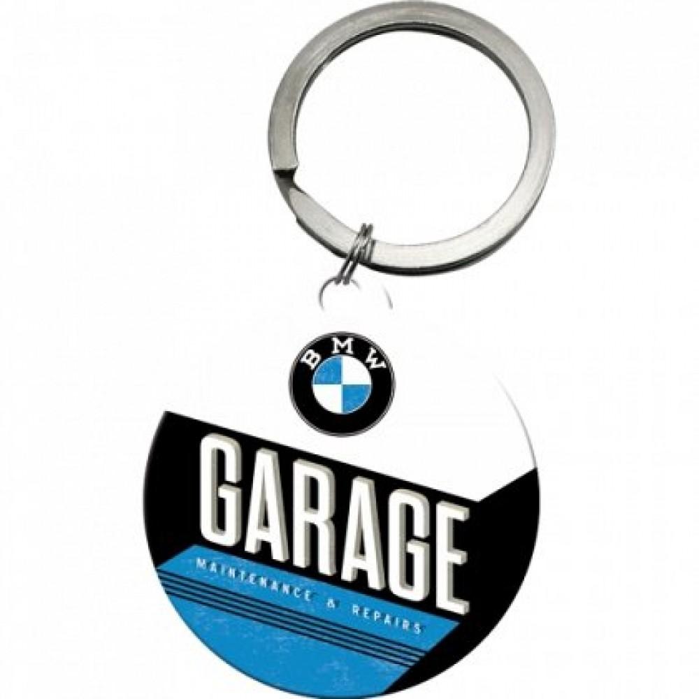 Breloc metalic - BMW Garage