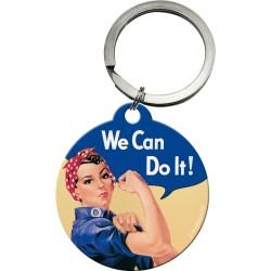 Breloc metalic - We can do it!