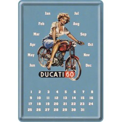 Calendar birou - Ducati Pin up 10x14 cm