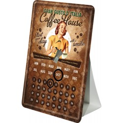 Calendar birou - Coffee House 10x14 cm