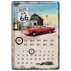 Calendar birou - Route 66 Mother Road 10x14 cm