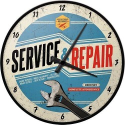 Ceas de perete - Service and Repair - Ø31 cm