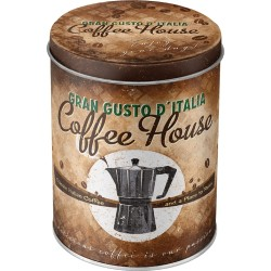 Cutie de depozitare metalica - Coffee House