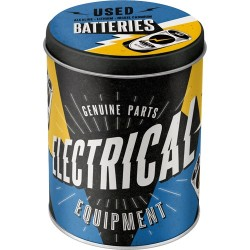 Cutie de depozitare metalica - Electrical - Used Batteries