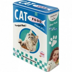 Cutie de depozitare metalica - Cat Food Fish