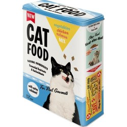 Cutie de depozitare metalica - Cat Food