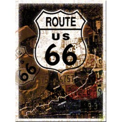 Magnet - Route 66 Map