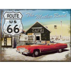 Magnet - Route 66 The Mother Road