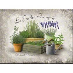 Magnet - Le Jardin Francais