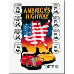 Magnet - Route 66 Americans