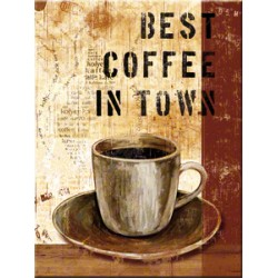Magnet - Best Coffee in Town