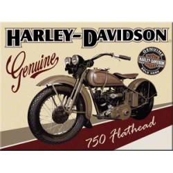 Magnet - Harley Davidson Flathead