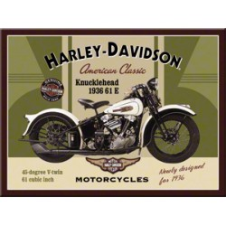 Magnet - Harley Davidson Knucklehead