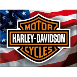 Magnet - Harley Davidson USA Logo