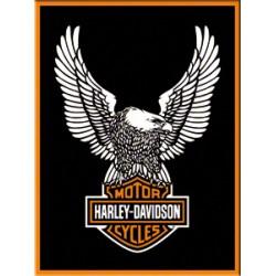 Magnet - Harley Davidson Eagle logo