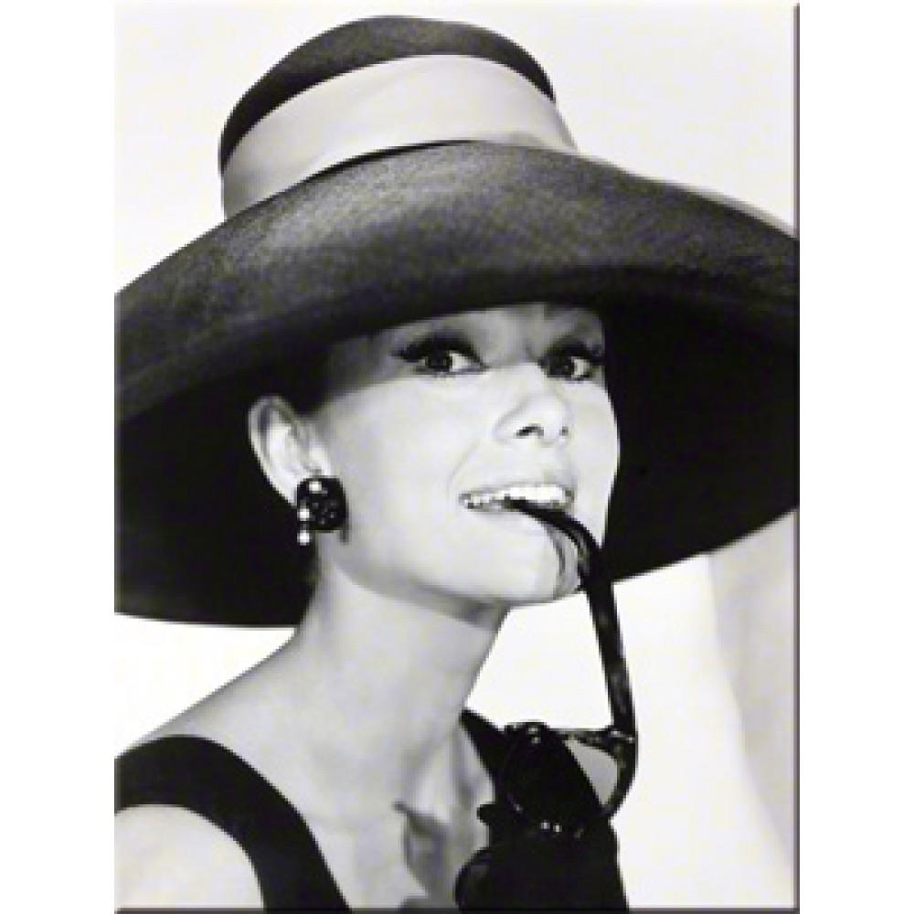 Magnet - Audrey Hepburn Hat & Glasses