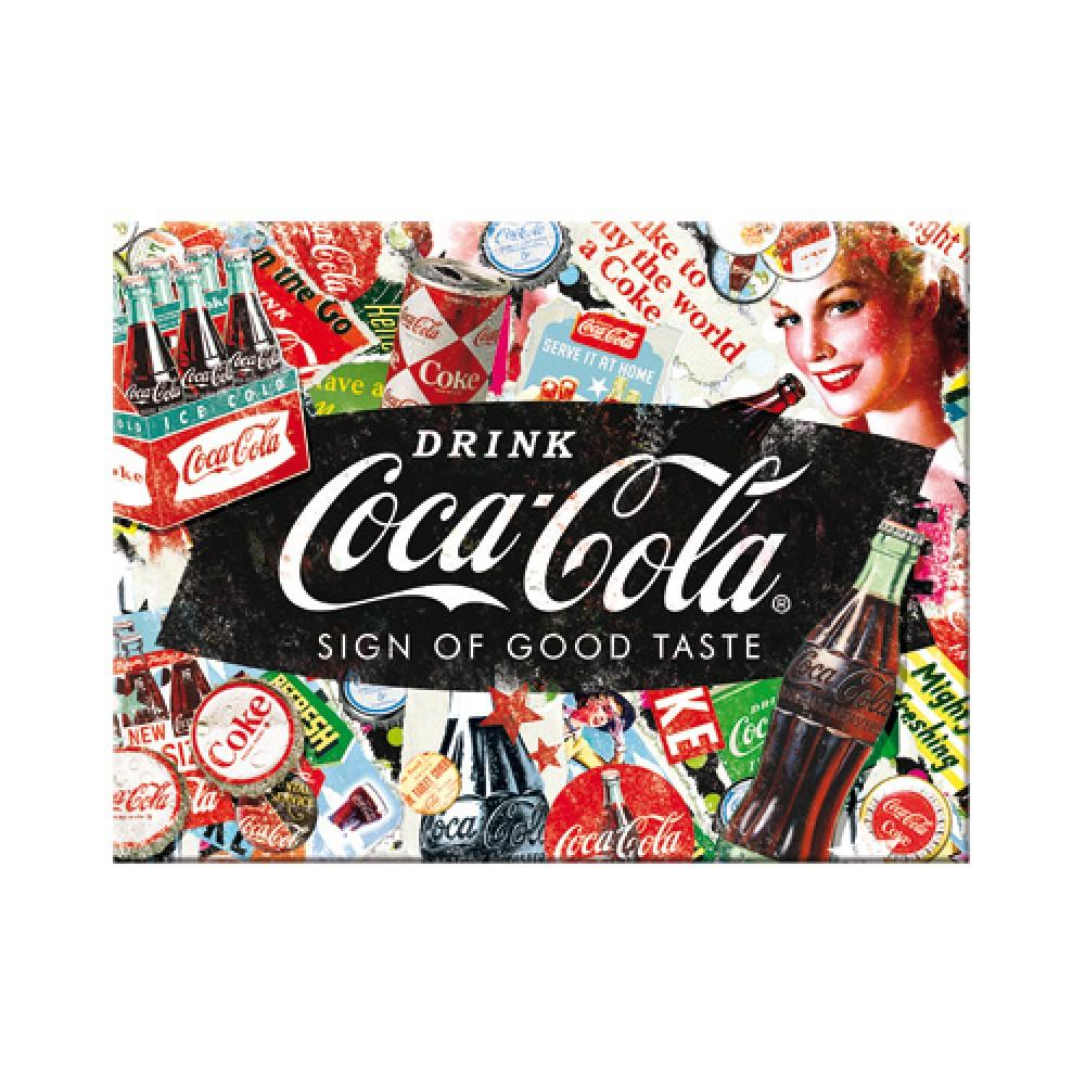 Magnet Coca-Cola - Collage