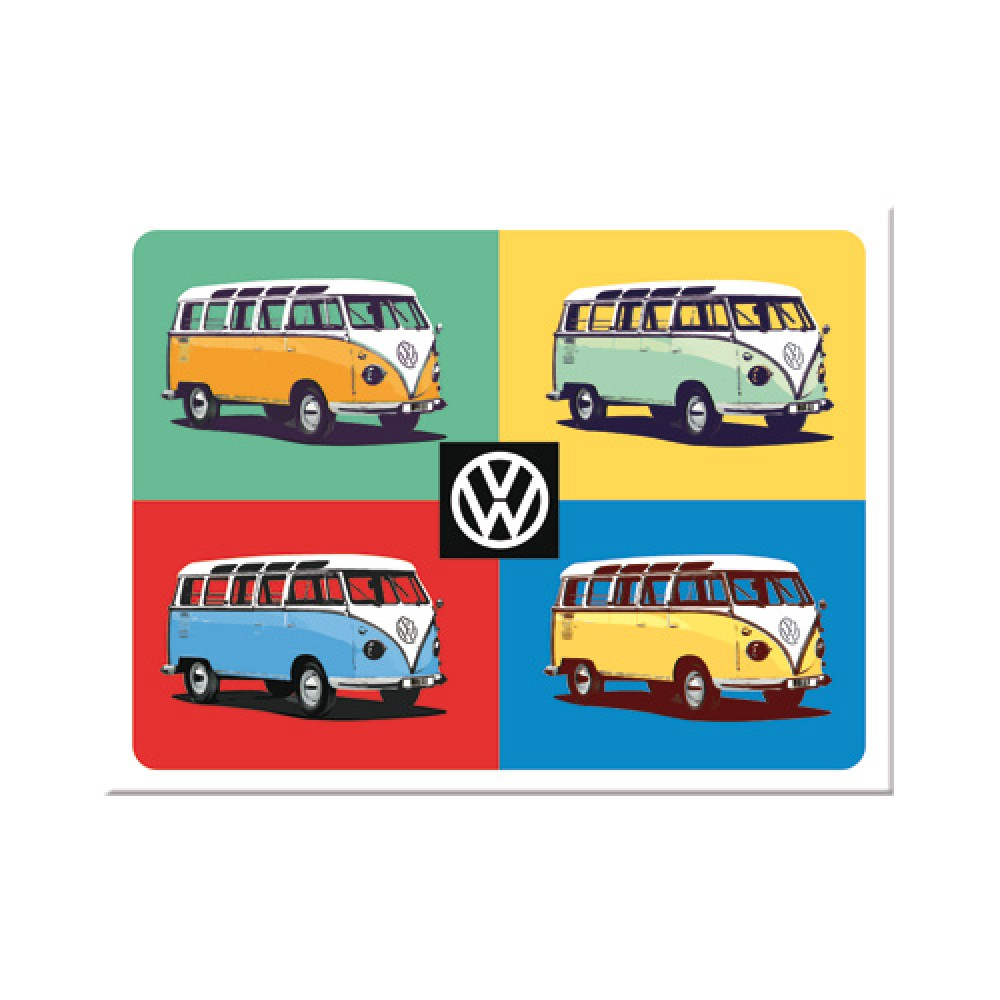 Magnet VW Bulli - Pop Art