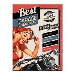 Magnet - Best Garage Red