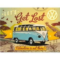 Magnet - VW Bulli - Let's Get Lost