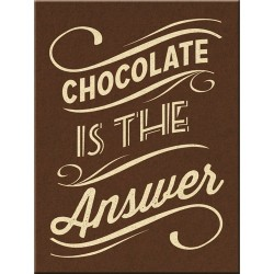 Magnet - Chocolate is the Answer