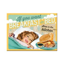 Magnet - Breakfast in Bed