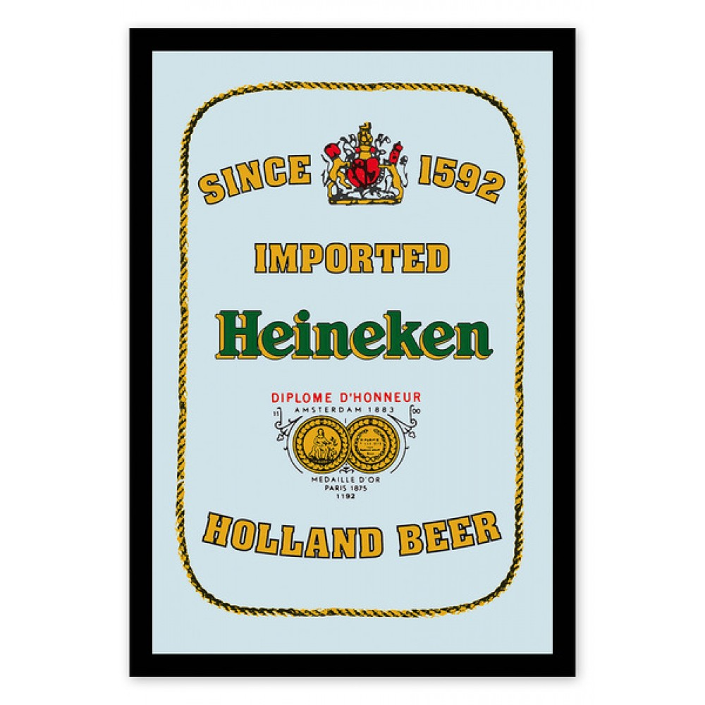 Oglinda decor - Heineken