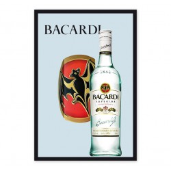 Oglinda decor - Bacardi