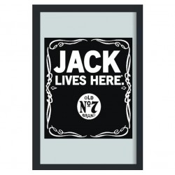 Oglinda decor - Jack Daniel's - Jack Lives Here