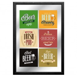 Oglinda decor - Premium Beer