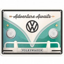 Placa metalica - Volkswagen Adventure - 15x20 cm