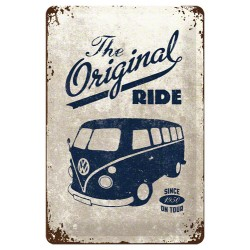 Placa metalica - VW The Original Ride - 20x30 cm