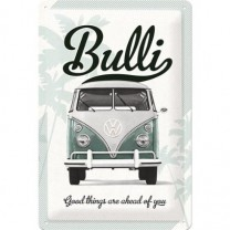 Placa metalica - VW Good Things - 20x30 cm