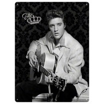 Placa metalica - Elvis Presley The King - 30x40 cm