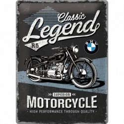 Placa metalica - BMW - Classic Legend - 30x40 cm