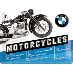 Placa metalica - BMW Evolution - 30x40 cm
