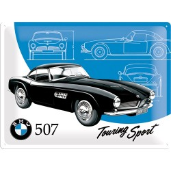 Placa metalica - BMW - 507 Touring Sport - 30x40 cm
