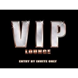 Placa metalica - VIP Lounge - 30x40 cm