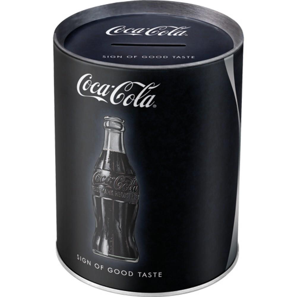 Pusculita metalica - Coca-Cola Sign of Good Taste