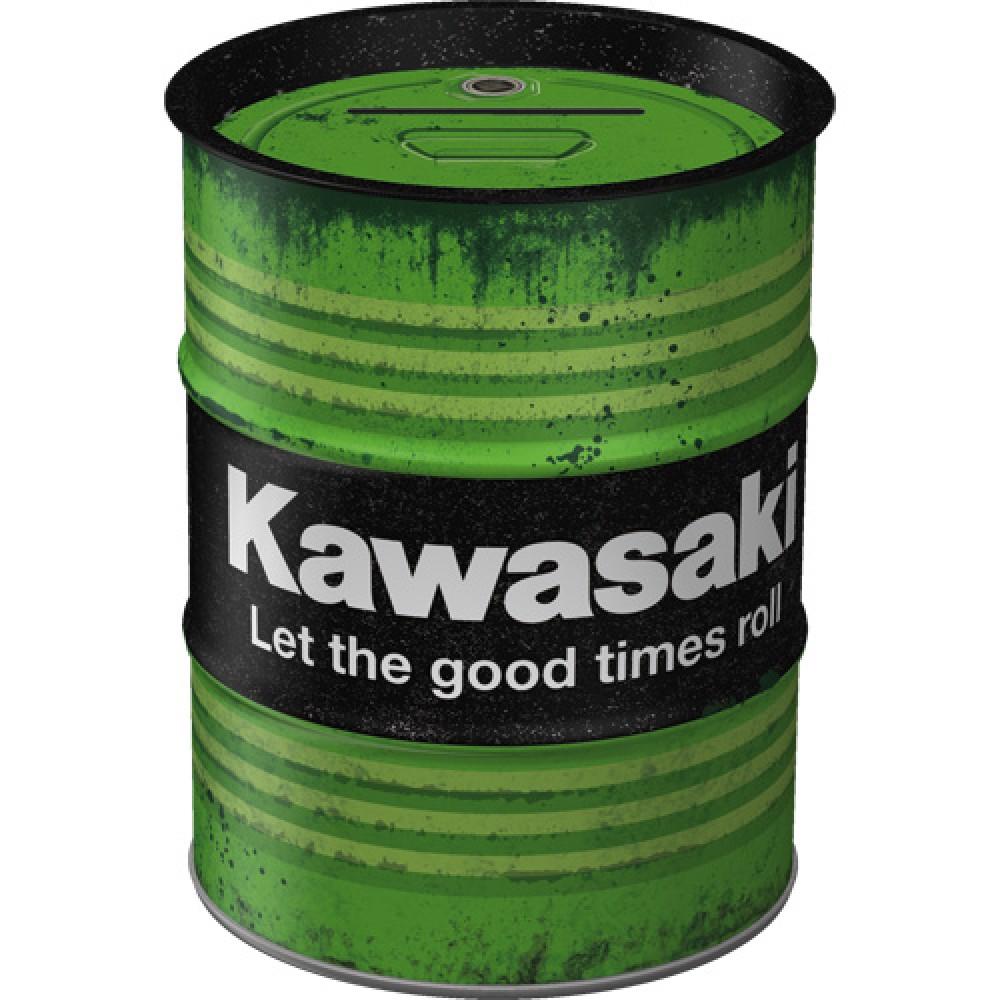 Pusculita metalica Kawasaki - Let the good times roll