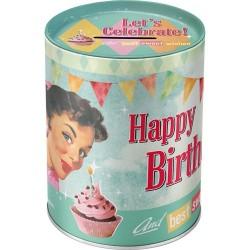Pusculita metalica - Happy Birthday