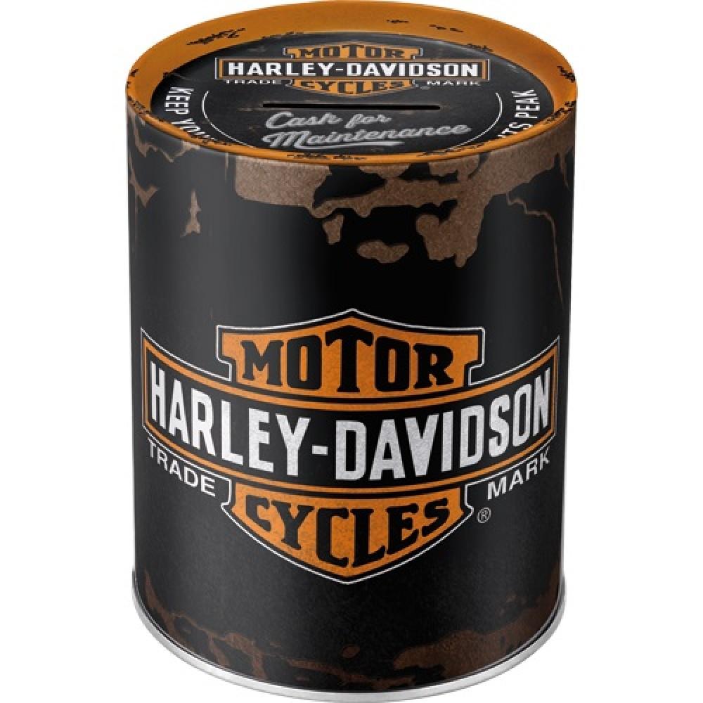 Pusculita metalica - Harley Davidson