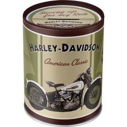 Pusculita metalica - Harley Davidson Knucklehead