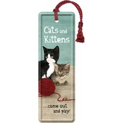 Semn de carte - Cats and Kittens