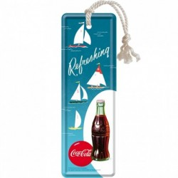 Semn de carte - Coca-Cola Refreshing