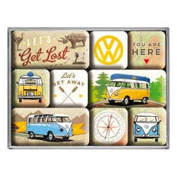 Set magneti - VW Bulli - Let's Get Lost