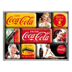 Set magneti - Coca-Cola - Yellow